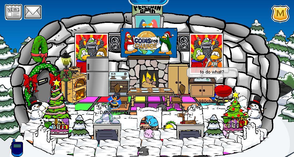 Awesome Club Penguin Igloo Ideas? | Yahoo Answers